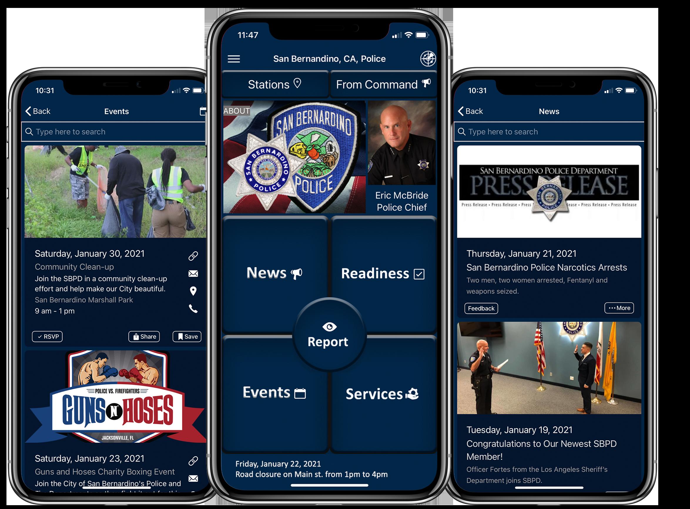 San Bernardino Police Digitize Community-Oriented Policing Services thumbnail